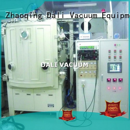 Quality vacuum line Dali Brand chamber coating machine double