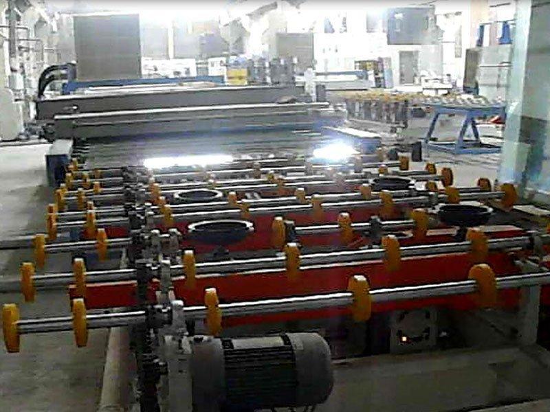 1627 magnetron coating product line