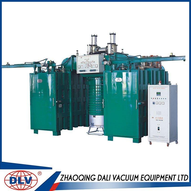 Evaporation Double Chamber Vacuum Coating Machine ( 30% Powder Saving )