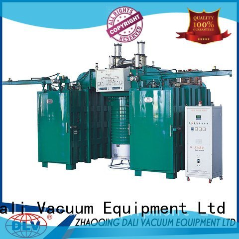 powder evaporation vacuum chamber with pump Dali