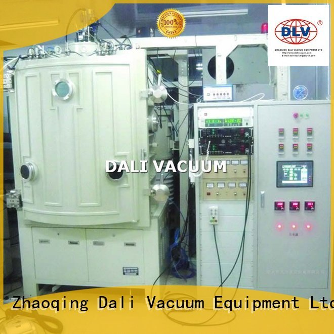 vacuum line evaporation double chamber chamber