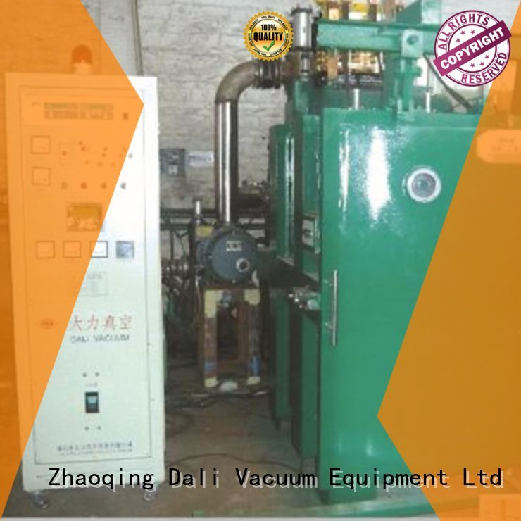 Dali vacuum line evaporation chamber double