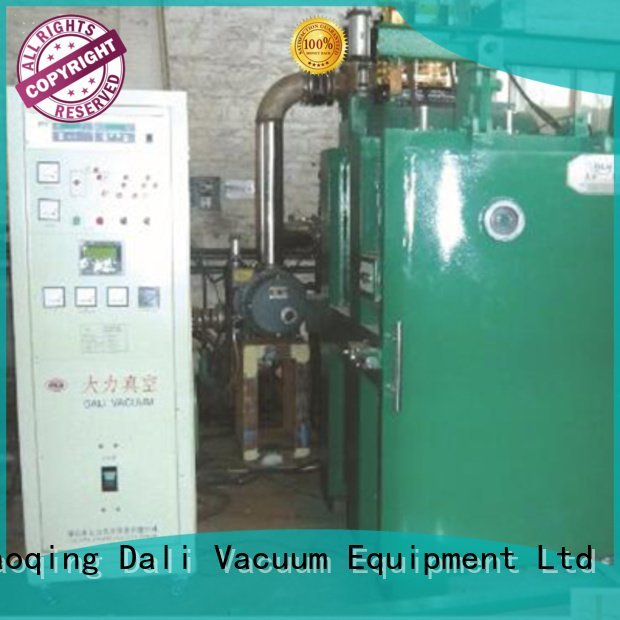 chamber evaporation double double Dali vacuum line