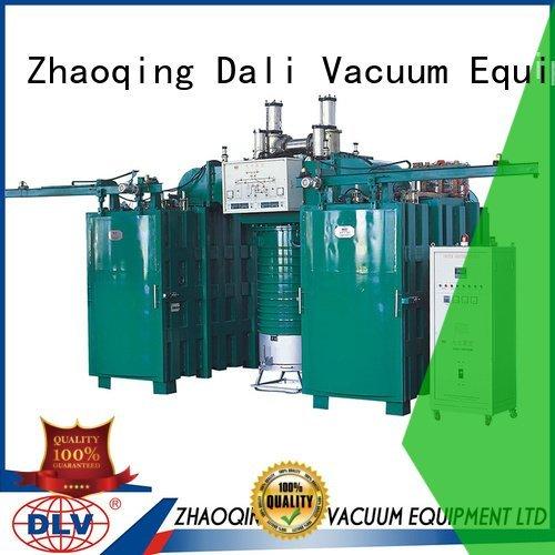 Custom coating arc machine powder vacuum chamber with pump