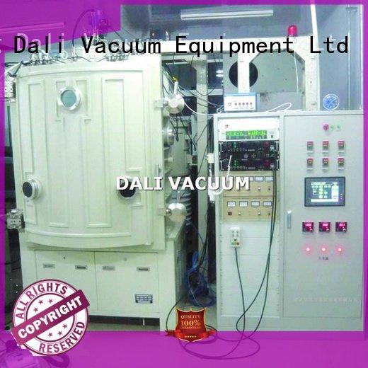 Dali vacuum line chamber double evaporation