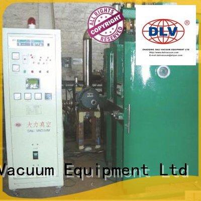 double evaporation chamber Dali vacuum line