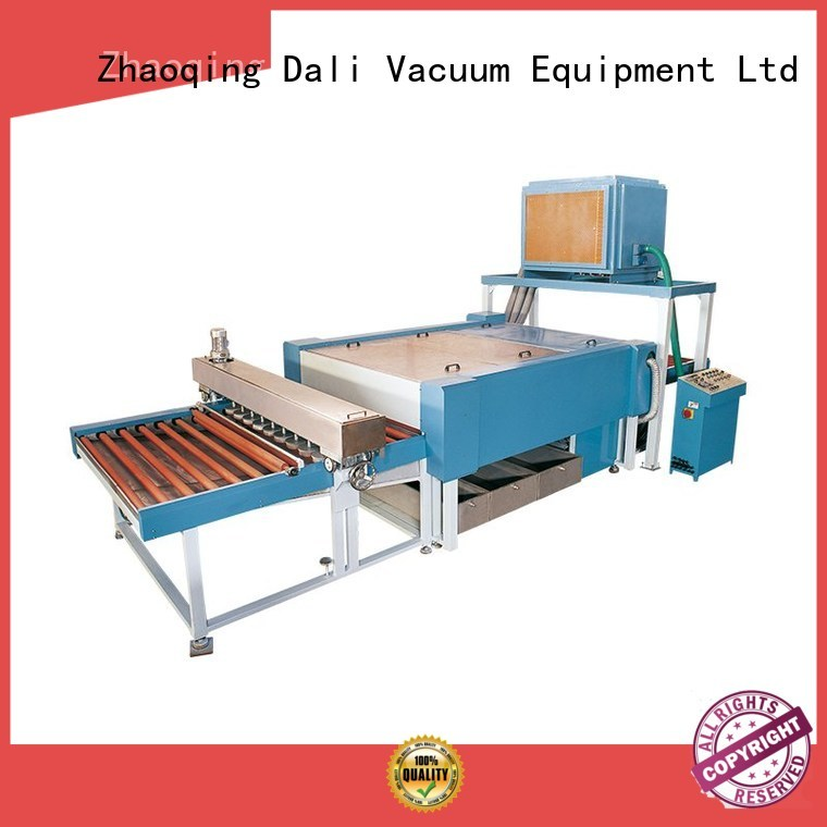 Dali Brand horizontal machine glass glass washing machine manufacture