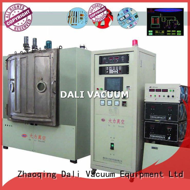 Dali large –scale frequency rf magnetron sputtering coating