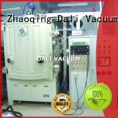 OEM vacuum line double evaporation chamber coating machine