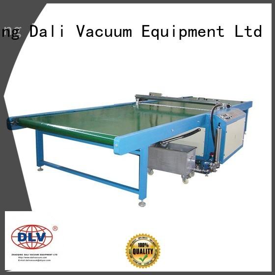 Dali Brand machine horizontal spray on glass coating glass supplier