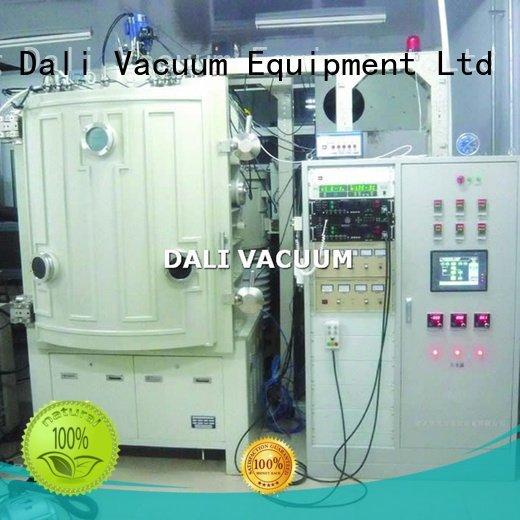 evaporation double Dali vacuum line