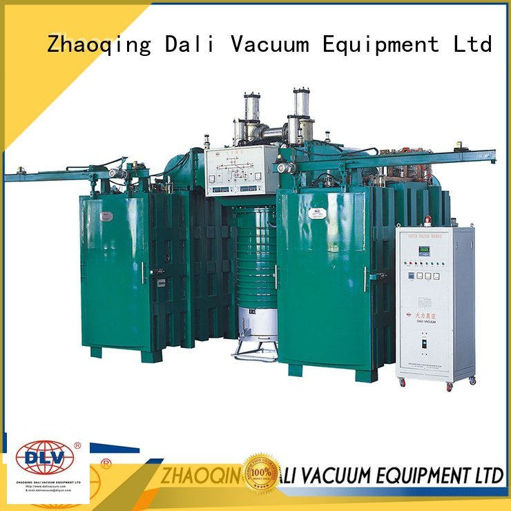 double arc machine Dali vacuum chamber with pump