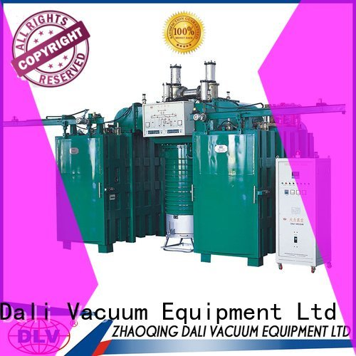 Dali Brand machine coating double vacuum chamber with pump