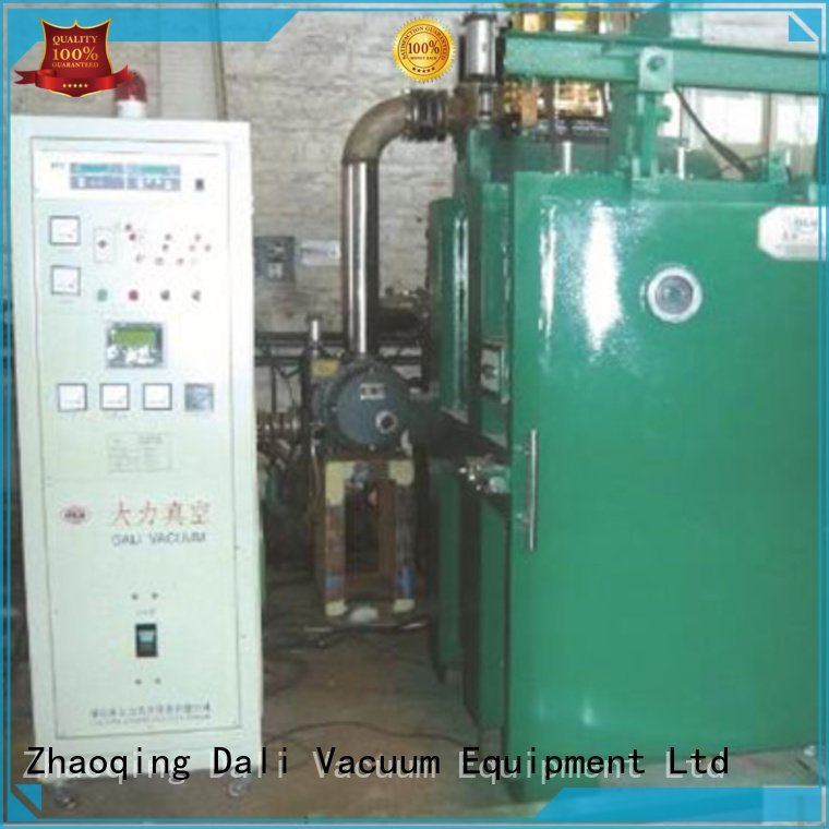 Dali vacuum line chamber evaporation double